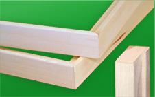 "Lightweight and premium grade 1.5"" thick wood"